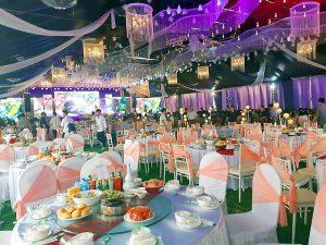 Tổ chức tiệc cưới An Quý - Hạnh phúc viên mãn của lứa đôi