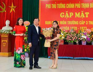 3 năm liên tiếp An Quý là đơn vị cung cấp tiệc gặp mặt bạn đồng môn do PPT Trịnh Đình Dũng chủ trì