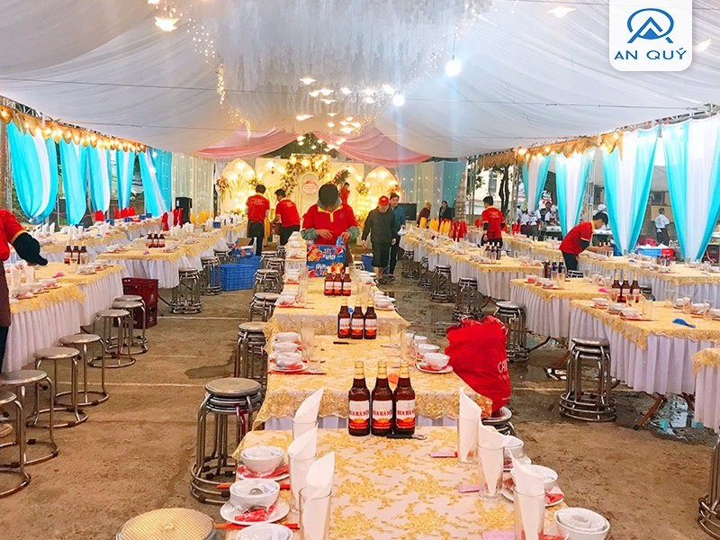 Báo giá dịch vụ nấu tiệc cưới tại nhà 2021