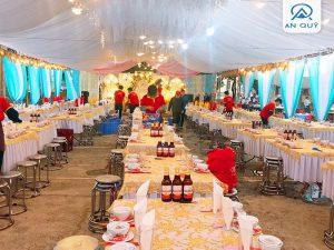 Đặt tiệc cưới hỏi trọn gói tại nhà