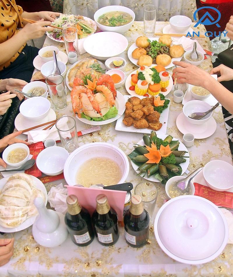 Nấu cỗ tại nhà ở Mê Linh Hà Nội