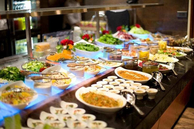 Tiệc cưới buffet tại nhà
